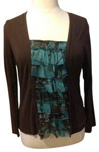 Other Top Brown & Teal