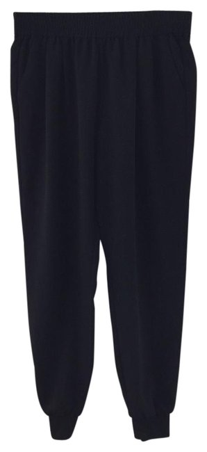 Item - Black Marnier Tapered Jogger Pants Size 8 (M, 29, 30)