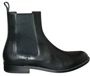 Gucci Leather Ankle Mens Mens Black Boots