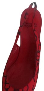 Charles Jourdan Red Pumps