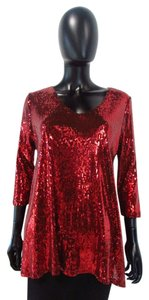 Lynn Ritchie Top Red