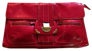 Chinese Laundry Fire Red Clutch