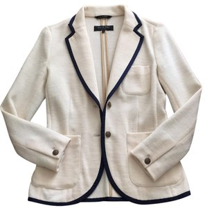 Rag & Bone Cream/navy Blazer