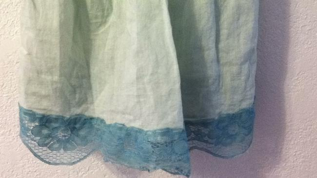 Anthropologie Top mint green