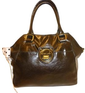 Elliott Lucca Refurbished Leather Satchel Hobo Bag