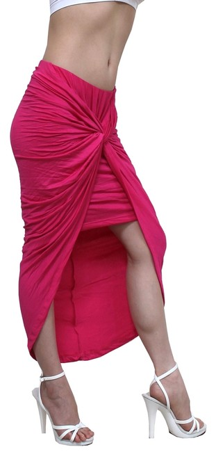 Preload https://item2.tradesy.com/images/exoticwear-skirt-pink-1972171-0-0.jpg?width=400&height=650