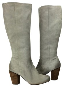 Nordstrom Leather Brown Grey Boots