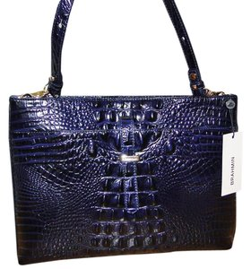 Brahmin Leather All Day Convertible Cross Body Bag