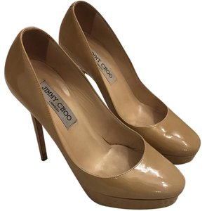 Jimmy Choo beige Platforms