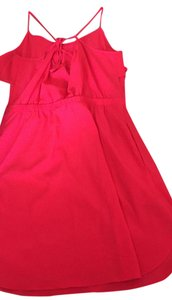 American Eagle Outfitters short dress Hot pink on Tradesy