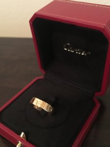 Cartier Yellow Gold Love Ring Women's Wedding Band