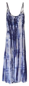 Blue and white tie dye Maxi Dress by Forever 21
