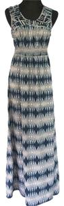 Grey/Navy Maxi Dress by Charlie jade
