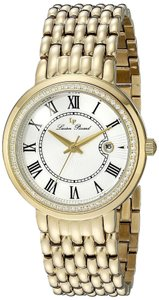 Lucien Piccard Brand New Women LP-16540-YG-22S Fantasia Yellow Gold Watch