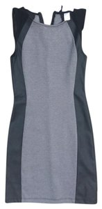 H&M short dress Black gray on Tradesy