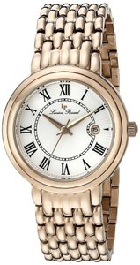 Lucien Piccard Brand New Women LP-16539-RG-22S Fantasia Rose Gold Watch