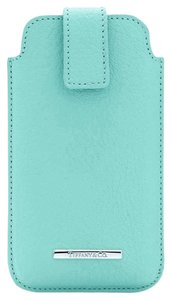 Tiffany & Co. Tiffany & Co Blue Leather iPhone Cover Case