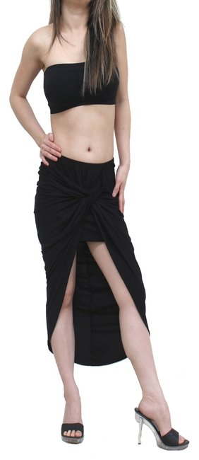 exotic wear Skirt black