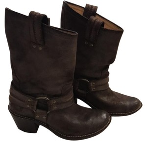 Frye Dark suede brown Boots