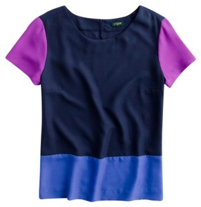 J.Crew Top Blue, pink, purple