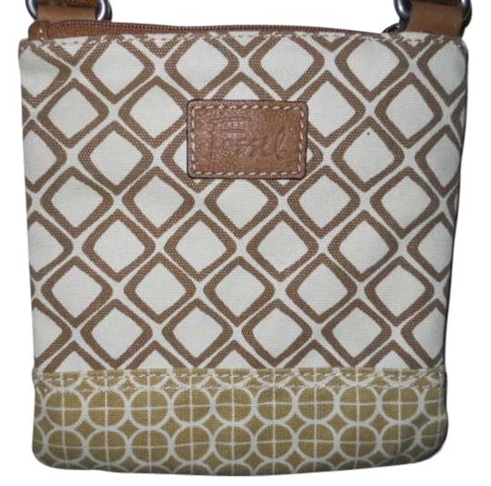 Preload https://item1.tradesy.com/images/fossil-canvas-with-leather-trim-cross-body-bag-197225-0-0.jpg?width=440&height=440