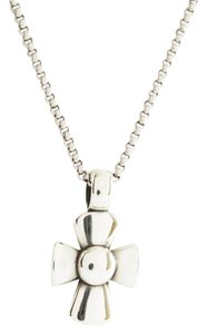 James Avery JAMES AVERY Sterling Silver Beacon Cross and Chain Necklace