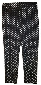 Joseph Ribkoff Straight Pants Black & White Polka Dot