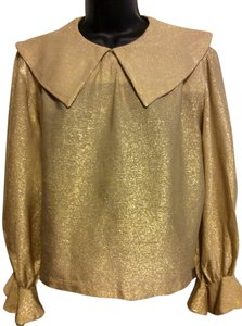 Pourant Top Gold Lame