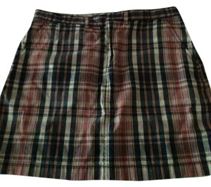 Ralph Lauren Skirt Madras Plaid
