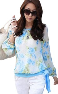 Jewelry Sunglass Handbag Top blue