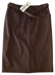 Escada Skirt chocolate brown