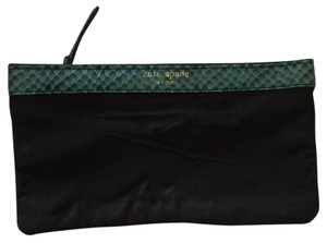 Kate Spade Kate Spade Navy Blue Exotic Python Coin Bag