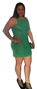 Bebe short dress Green on Tradesy