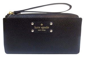 Kate Spade New With Tags Kate Spade Wellesley Wristlet/Wallet Black