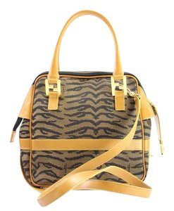 Fendi 2way Two-way Two Way Boston Satchel Shoulder Bag