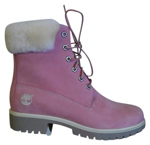 Timberland Ugg Gucci Dior Pink & White Boots