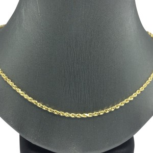 14K Yellow Gold Rope Chain ~2.50 16 Inches