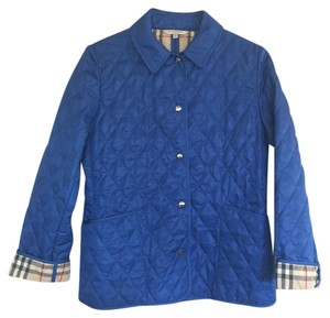 Burberry Royal Blue Jacket