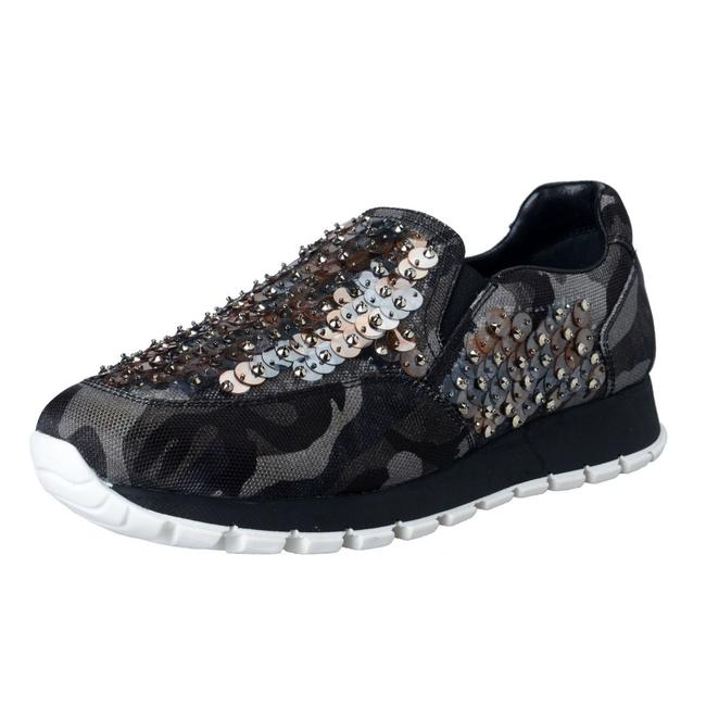 Item - Multi-color Women's Sequin Decorated Moccasins Loafers Slip On Sneakers Size US 7 Regular (M, B)