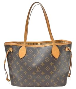 Louis Vuitton Lv Neverfull Fall Tote in Brown