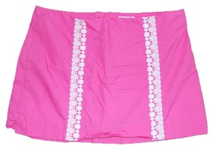 Lilly Pulitzer Mini Skirt hot pink