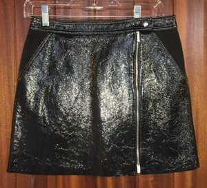 Theory Mini Black Mini Skirt