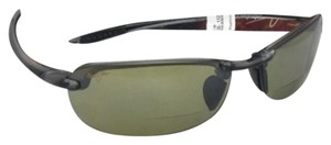 Maui Jim MAUI JIM Sunglasses MAKAHA READER + 2.0 HT 805-11 20 Grey w/Green