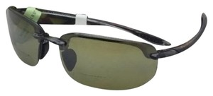Maui Jim MAUI JIM Sunglasses Ho'okipa READER +2.0 807-1120 Grey/Green Polarized