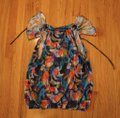 Anthropologie Multi-colored Ric Rac Blouse Size Petite 2 (XS) Anthropologie Multi-colored Ric Rac Blouse Size Petite 2 (XS) Image 4