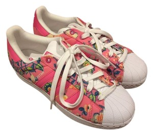 adidas Sneakers Floral Pink Athletic