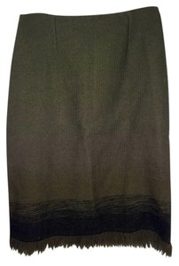 Peruvian Connection Skirt Olive Green