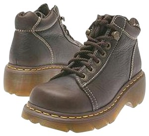 Dr. Martens Leather Brown Boots