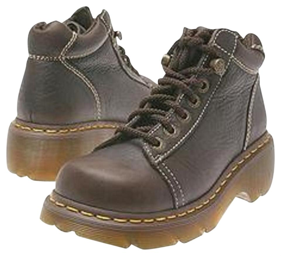 Dr. Martens 6-7 Brown Leather 6-7 Martens Boots/Booties 233297
