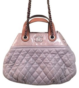 Chanel Tote in Grey/Brown